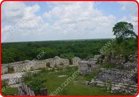 Zona Arqueologica Ekbalam